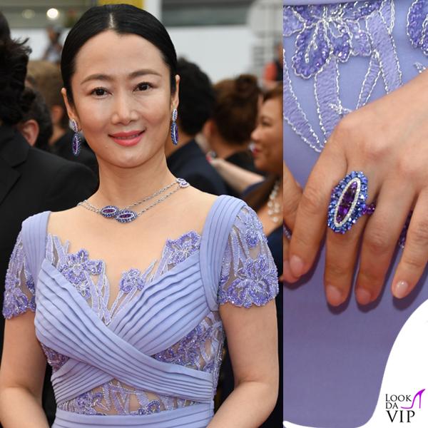 Zhao Tao gioielli Chopard 2