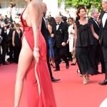 Bella Hadid Cannes 2016 abito Alexandre Vauthier gioielli De Grisogono sandali Giuseppe Zanotti Design 7