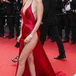 Bella Hadid Cannes 2016 abito Alexandre Vauthier gioielli De Grisogono sandali Giuseppe Zanotti Design 10