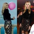 Heidi Klum party Vanity Fair gonna Balmain