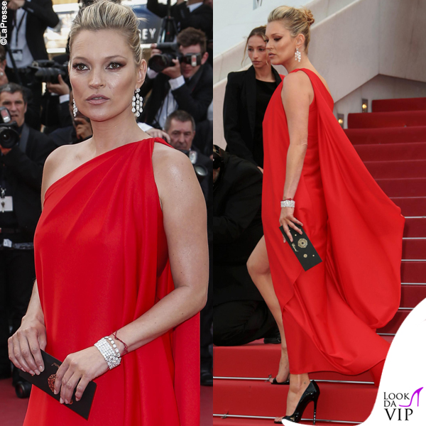 Kate Moss Cannes 2016 premiere Loving abito Halston 3