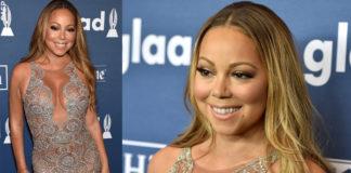 Mariah Carey Glaad Media Awards abito Mark Zunino