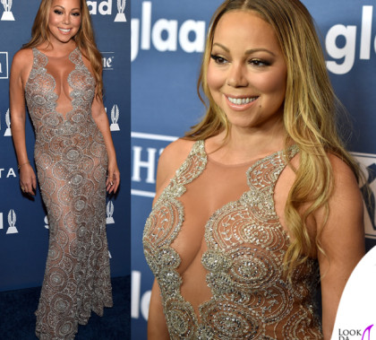 Mariah Carey Glaad Media Awards abito Mark Zunino
