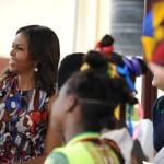 Michelle Obama in Africa 6