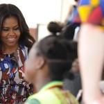 Michelle Obama in Africa 3