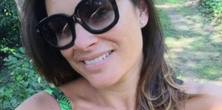 Alena Seredova costume 4giveness occhiali Tom Ford