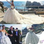 Giovanna Battaglia abito Alexander McQueen 2