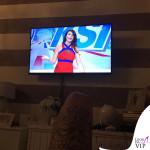 Ilaria D'Amico abito Elisabetta Franchi 5