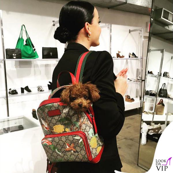Katy Perry zaino Gucci