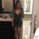Kourtney Kardashian abito Versace