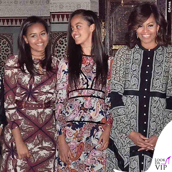 Michelle Malia e Sasha Obama