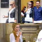 Paris Hilton a Milano tra Corona e Belen
