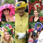Royal Ascot: la regina in giallo fra i cappellini