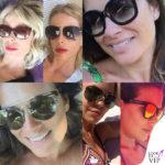 Sunglasses mania: la doppia faccia delle star