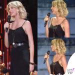 Alessia Marcuzzi Coca Cola Summer Festival canotta Topshop, sandali Gianvito Rossi, cintura Michael Kors 1