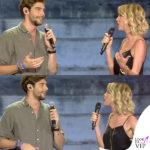 Alessia Marcuzzi Coca Cola Summer Festival canotta Topshop, sandali Gianvito Rossi, cintura Michael Kors 2