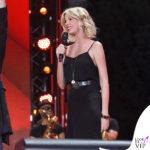 Alessia Marcuzzi Coca Cola Summer Festival canotta Topshop, sandali Gianvito Rossi, cintura Michael Kors 4