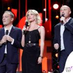 Alessia Marcuzzi Coca Cola Summer Festival canotta Topshop, sandali Gianvito Rossi, cintura Michael Kors 5
