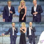 Alessia Marcuzzi Coca Cola Summer Festival canotta Topshop, sandali Gianvito Rossi, cintura Michael Kors 6