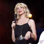 Alessia Marcuzzi Coca Cola Summer Festival canotta Topshop, sandali Gianvito Rossi, cintura Michael Kors 7