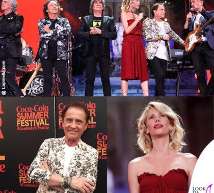 Coca Cola Summer Festival Alessia Marcuzzi abito Isabel Marant Pooh