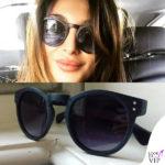 Cristina buccino occhiali da sole Excape Eyewear