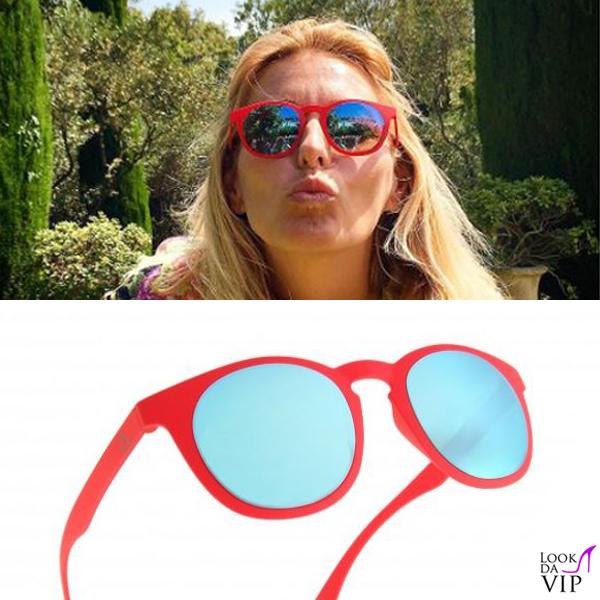 Federica Fontana occhiali da sole Alsteca WYNWOOD C08 FF