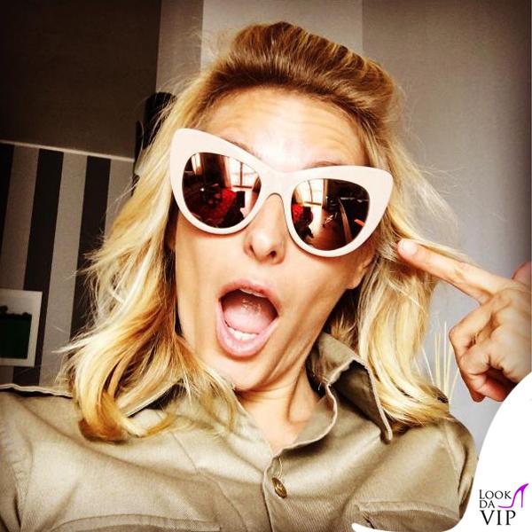 Federica Fontana occhiali da sole Stella McCartney
