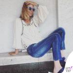 Filippa Lagerback occhiali da sole Swacht