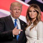 Donal e Melania Trump abito Roksanda pump Christian Louboutin 2