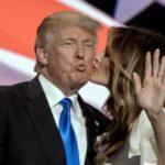 Donal e Melania Trump abito Roksanda pump Christian Louboutin 3