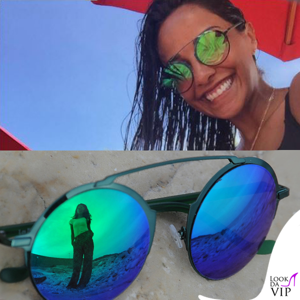 Juliana Moreira occhiali da sole Les Pièces Uniques_