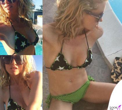 Justine Mattera bikini 4giveness infradito Hikkaduwa occhiali Emilio Pucci