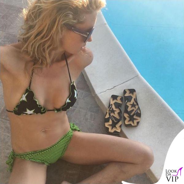 Justine Mattera bikini 4giveness infradito Hikkaduwa occhiali Emilio Pucci 2