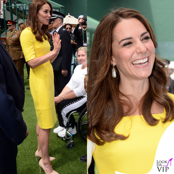 Kate Middleton abito Roksanda