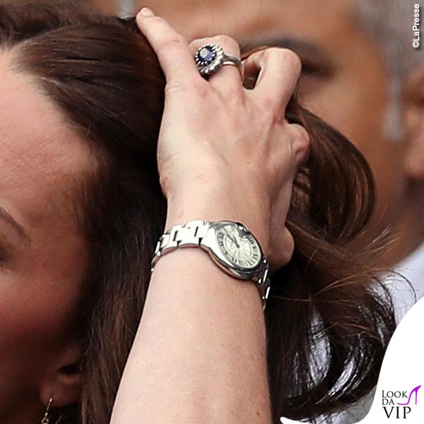 Kate Middleton orologio Cartier Ballon Bleu 3