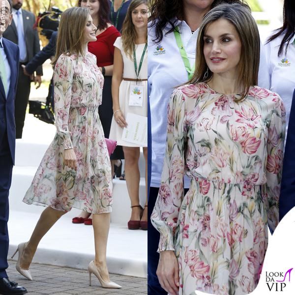 606662477e70 Letizia come Kate  svolta low cost da regina - Look da Vip