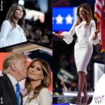 Melania Trump copia tutto… tranne il vestito