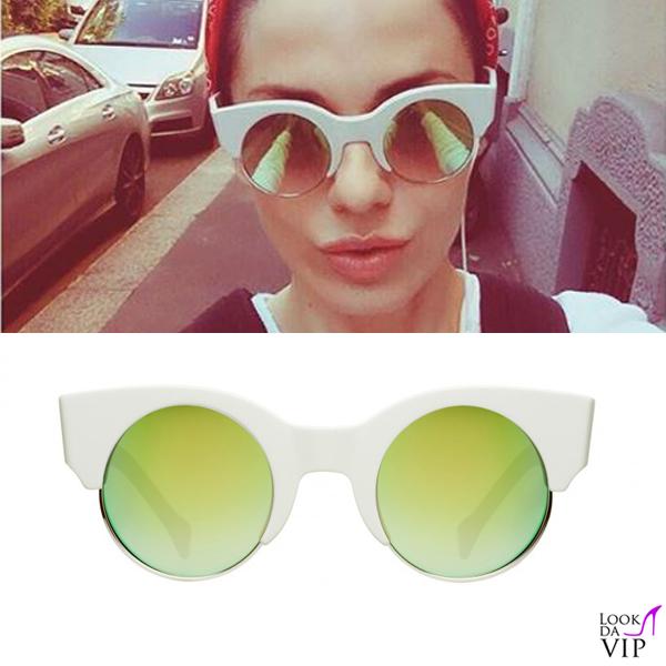 Paola Iezzi occhiali da sole Saturnino Meta Earth 1