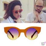 Paola Iezzi occhiali da sole Saturnino Meta Earth 5