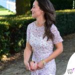 Pippa Middleton abito LK Bennett sandali Aperlai 2
