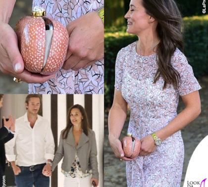 Pippa Middleton abito LK Bennett sandali Aperlai