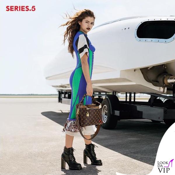 Selena Gomez campagna Louis Vuitton