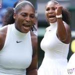 Serena Williams imbattibile… nei capezzoli
