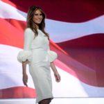 Melania Trump abito Roksanda pump Christian Louboutin 2