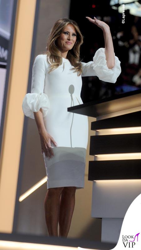 Melania Trump abito Roksanda pump Christian Louboutin 4