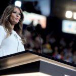 Melania Trump abito Roksanda pump Christian Louboutin