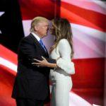Donal e Melania Trump abito Roksanda pump Christian Louboutin 7