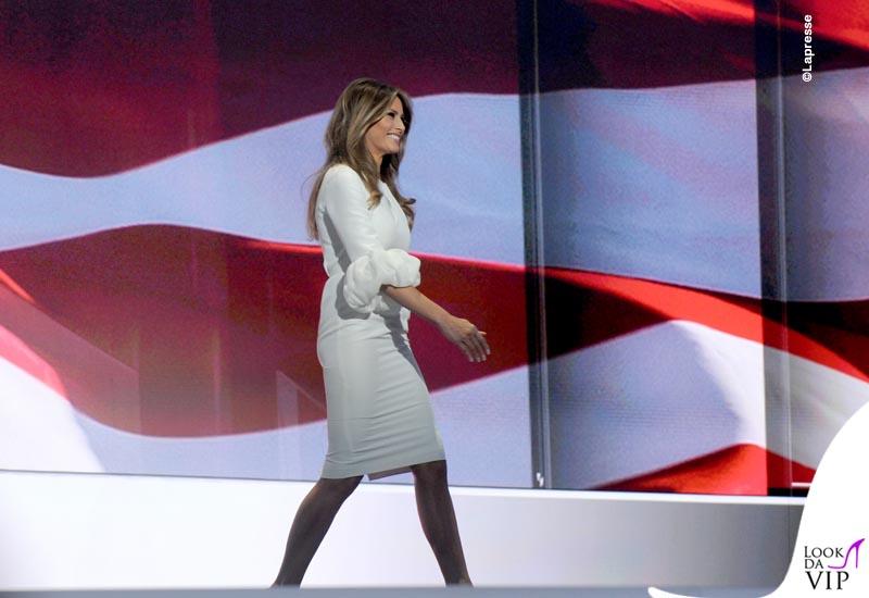 Melania Trump abito Roksanda pump Christian Louboutin 6