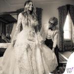 matrimonio Ciara abito Roberto Cavalli 4